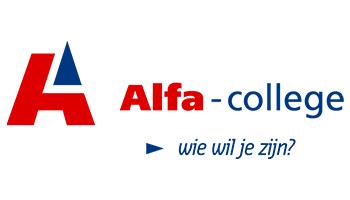 Alfa College - klant van Greenledwalls